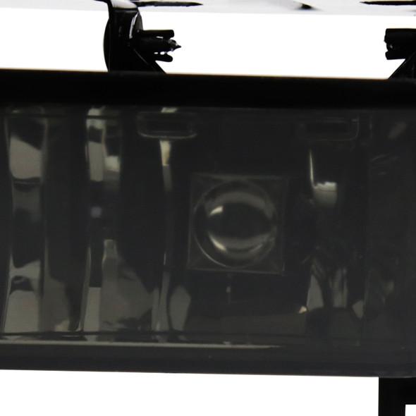 2002-2006 Cadillac Escalade 12V/27W 880 Factory Style Fog Lights (Chrome Housing/Smoke Lens)