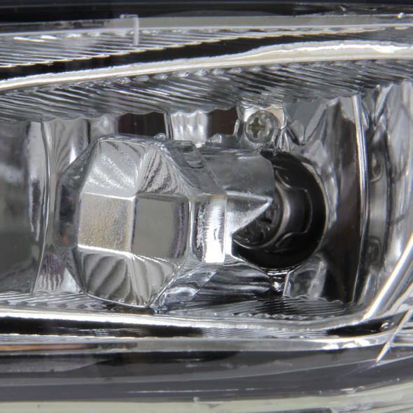 2002-2008 Toyota Solara/Camry/Corolla 9006 Fog Lights Kit (Chrome Housing/Clear Lens)