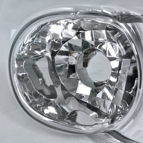 2000-2006 GMC Sierra/Yukon/Yukon XL Denali Bumper Lights (Chrome Housing/Clear Lens)
