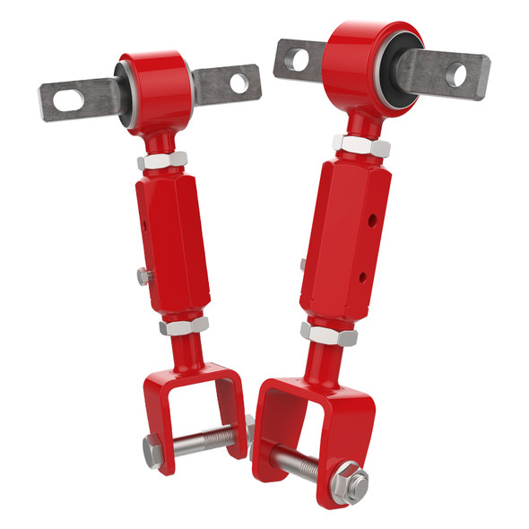 2001-2006 Honda Civic/ Acura RSX Red Rear Camber Arms