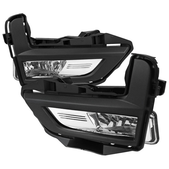 2017-2018 Nissan Rogue H8 Fog Lights Kit (Chrome Housing/Clear Lens)
