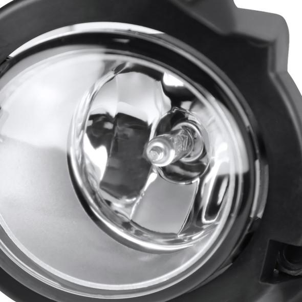 2017-2019 Toyota C-HR 12V/55W H11 Fog Lights Kit (Chrome Housing/Clear Lens)