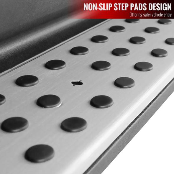 2007-2012 Mercedes Benz X164 GL Class Aluminum Side Step Bars