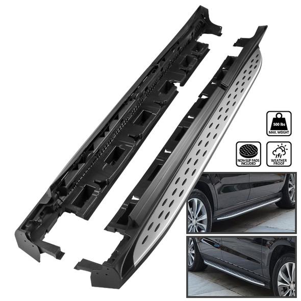 2013-2018 Mercedes Benz X166 GL-Class/GLS-Class Aluminum Side Step Bars