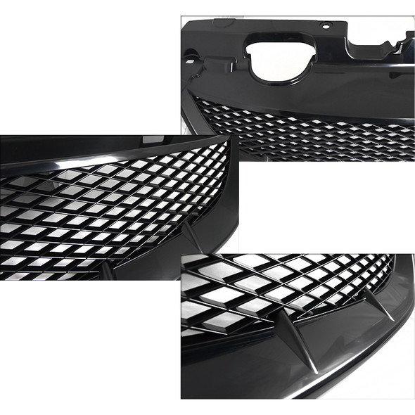 2004-2005 Honda Civic Front Hood Grille