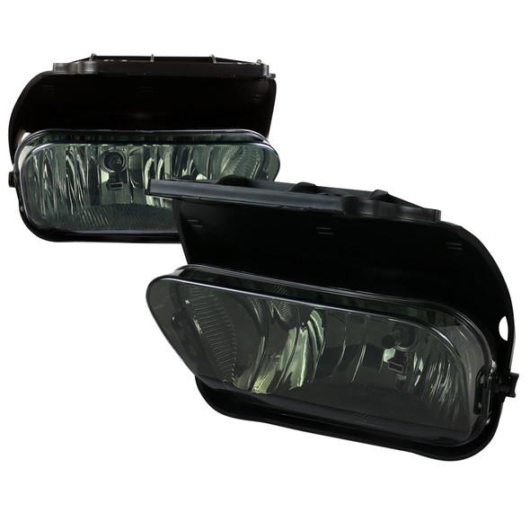 2002-2007 Chevrolet Silverado/Avalanche H10 Fog Lights (Chrome Housing/Smoke Lens)