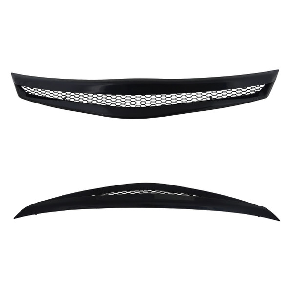 2006-2008 Honda Civic Coupe Si TR Style Black ABS Mesh Grille