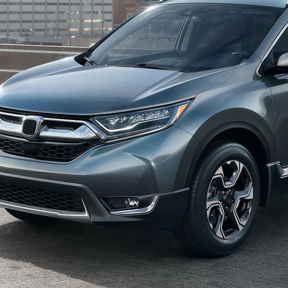 2017-2018 Honda CR-V H8 Fog Lights (Chrome Housing/Clear Lens)