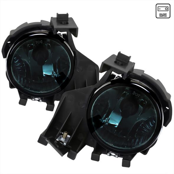 2008-2011 Subaru Impreza WRX 9006 HB4 Fog Lights Kit w/ Switch & Wiring Harness (Chrome Housing/Smoke Lens)
