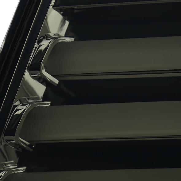 2011-2016 Chevrolet Cruze White Bar LED Tail Lights (Chrome Housing/Smoke Lens)