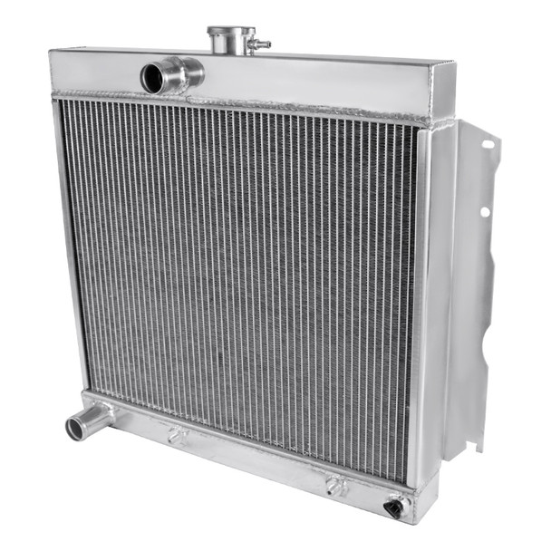 1963-1969 Dodge Charger Aluminum 3-Row Performance Cooling Radiator