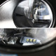 2012-2014 Toyota Camry SMD LED Projector Fog Lights w/ Switch, Wiring Harness, & Black Bezels (Chrome Housing/Clear Lens)