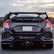 2016-2019 Honda Civic Hatchback Glossy Black ABS Rear Spoiler