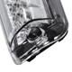1999-2006 Chevrolet GMC Silverado/Sierra 1500/2500/3500 Chrome Housing Clear Lens LED 3rd Brake Tail Light