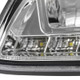 2000-2005 Chevrolet Impala Crystal Headlights w/ SMD LED Light Strip (Chrome Housing/Clear Lens)