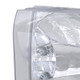 1999-2004 Ford F-250/F-350/F-450/F-550/Excursion Factory style Headlights (Chrome Housing/Clear Lens)