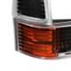 1999-2004 Ford F-250/F-350/F-450/F-550/Excursion Corner Lights (Matte Black Housing/Clear Lens)