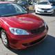 2004-2005 Honda Civic Coupe/Sedan TR Style Black ABS Mesh Grille