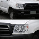 2005-2011 Toyota Tacoma LED Bar Projector Headlights w/ Sequential Turn Signal Lights (Chrome Housing/Clear Lens)