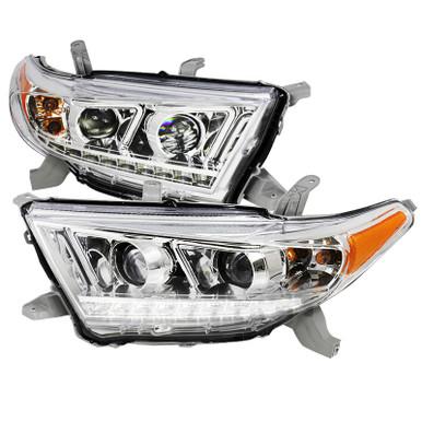Concept Fog Lights for 2011-2013 Toyota Highlander Fog Lights Lamps with Assembly Set L/&R Side