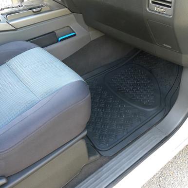 2016 GGBAILEY D50712-S2A-BK-LP Custom Fit Car Mats for 2012 2013 2017 2014 2015 2018 Toyota Sequoia Black Loop Driver Passenger /& Rear Floor