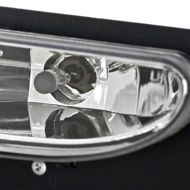 Spec-D Tuning LF-MST96C-DP Clear Fog Light , Will Not Fit Cobra Model