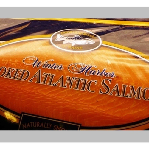 Maine Duck Trap Smoked Salmon (2.5 Lb.) Wholey's