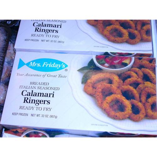 Calamari Rings Breaded (2 Lb.) Wholey's