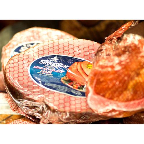 Silverstar Low Salt Semi-Boneless Ham (7 Lb. Avg)