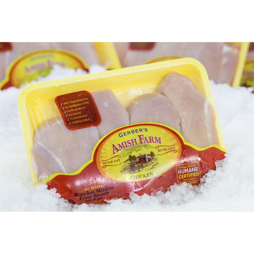 Gerbers All Natural Boneless Chicken Breasts (5 Lb. Avg)