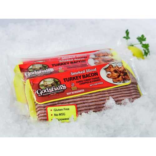 Godshall's Turkey Bacon 4 Pack Wholey's