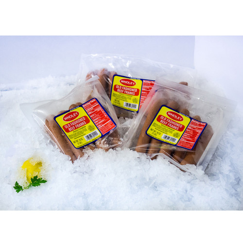 Wholey's All Beef Franks (2.4 Lb. Avg)