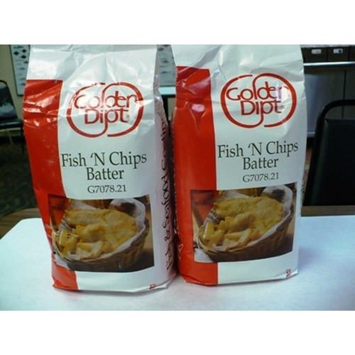 Fish N Chip Batter Mix, (5 Lb.) Wholey's