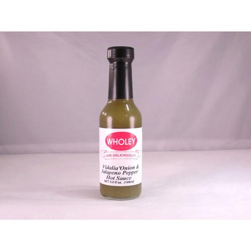 Vidalia Onion & Jalapeno Pepper Hot Sauce