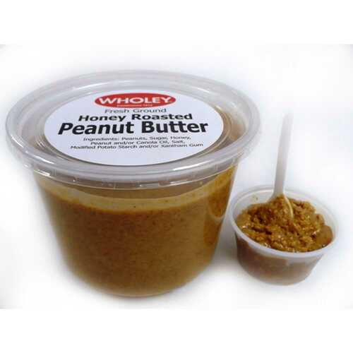 Honey Roasted Peanut Butter (1 Lb. Avg) Wholey's