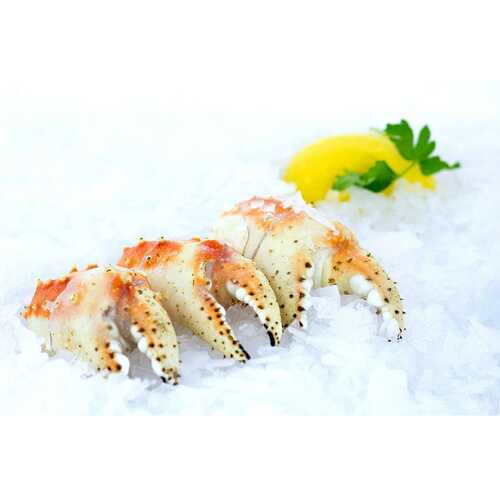 Alaskan King Crab Broiler Claws (3 Lb.) Wholey's