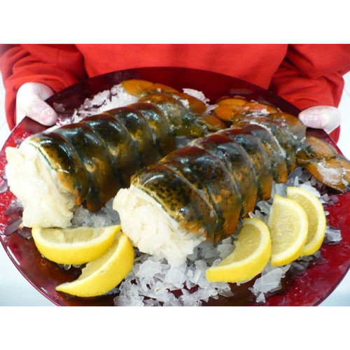 Five 12 -14 Oz. Cold Water Lobster Tails Wholey's