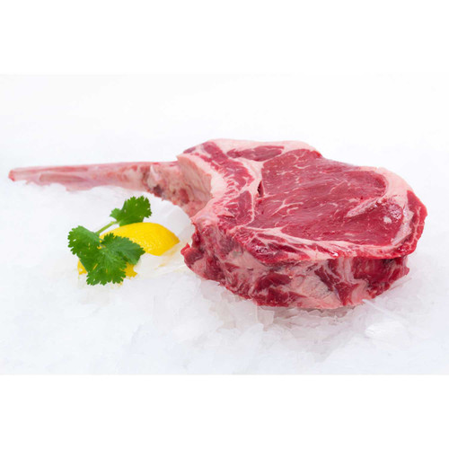 40 Oz. USDA Choice Black Angus Tomahawk Steak Wholey's