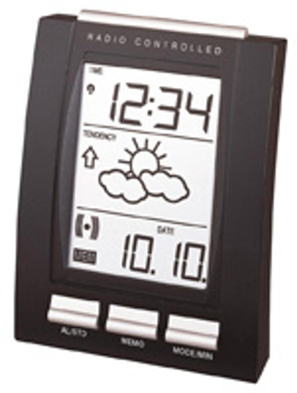 La Crosse WT293 Weather Forecast Memo Alarm Clock