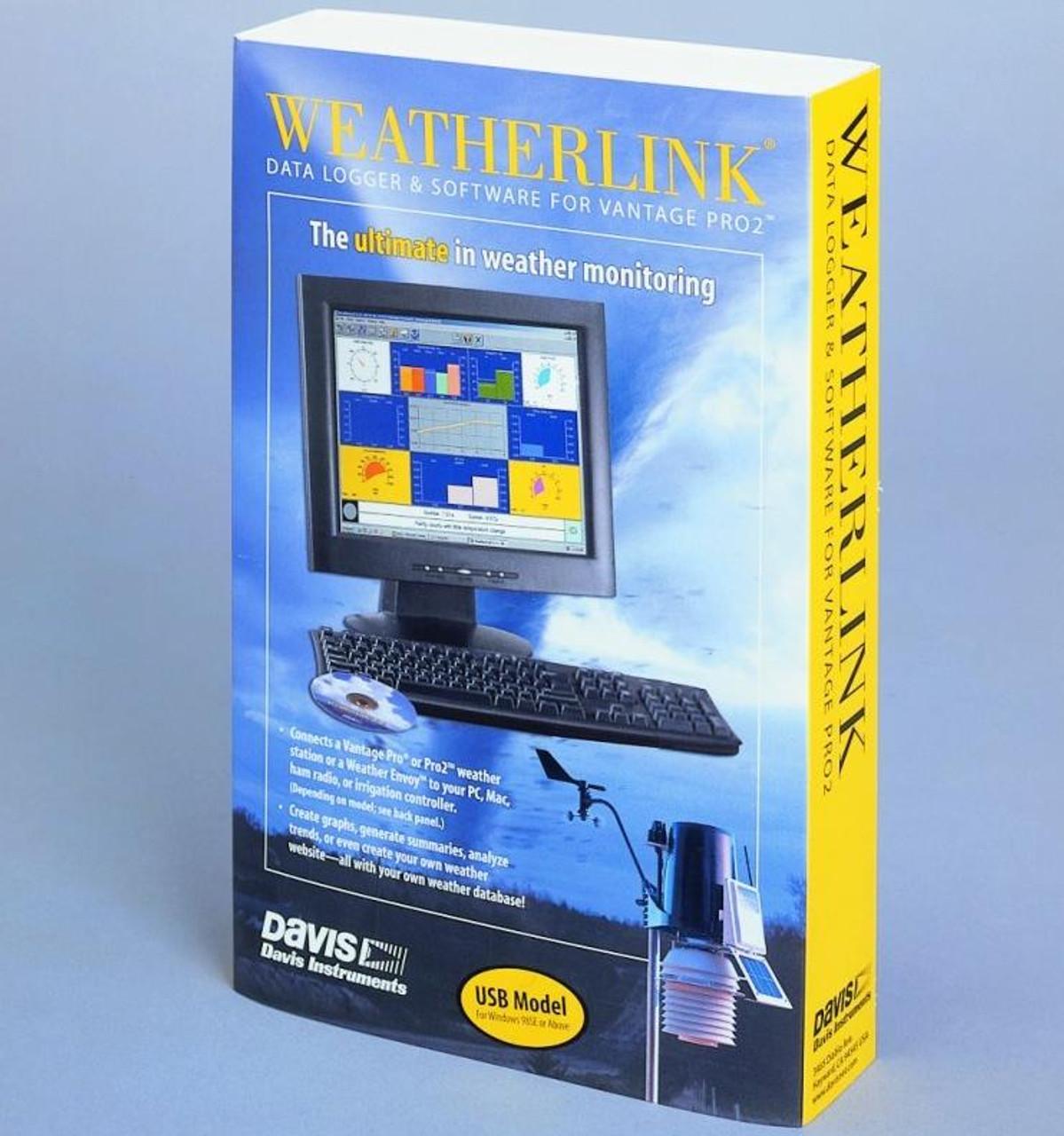 Davis 6510USB WeatherLink USB for Vantage Pro, Pro2 and Vue Windows/PC