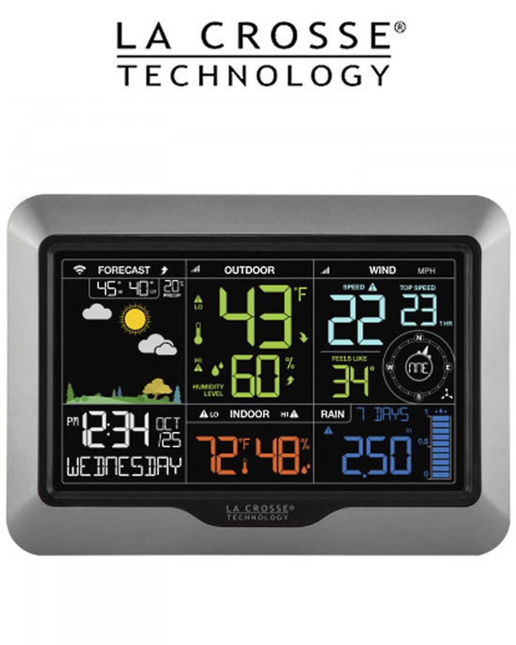 La Crosse V40-PRO WiFi Professional Colour Weather Station
