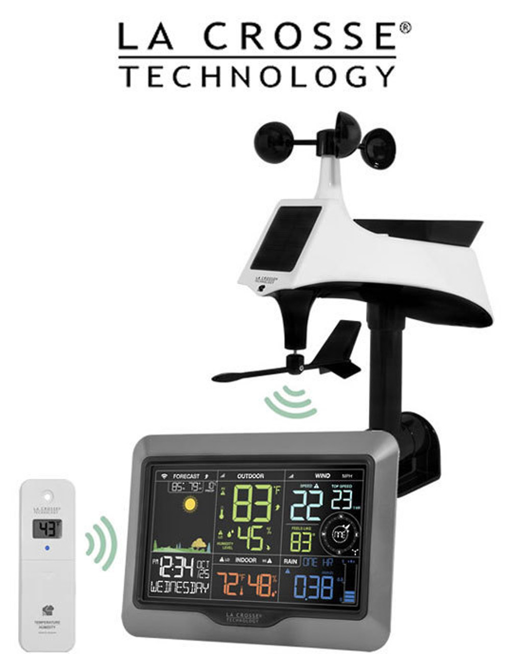 La Crosse V40-PRO WiFi Professional Colour Weather Station