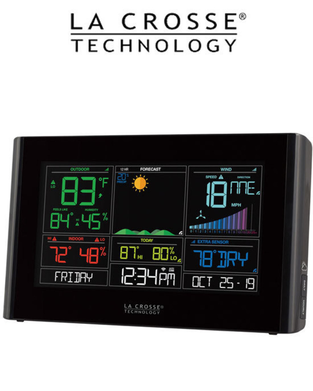 La Crosse S82950 WiFi Wind Weather Station with AccuWeather Forecast
