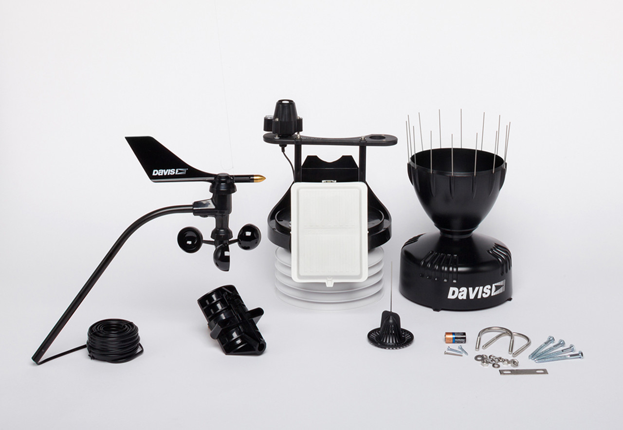 Davis 6820C Vantage Pro2 GroWeather Cabled Sensor Suite