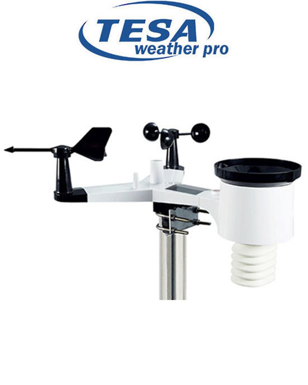 TESA WS2980C-Pro Colour WiFi Weather Station