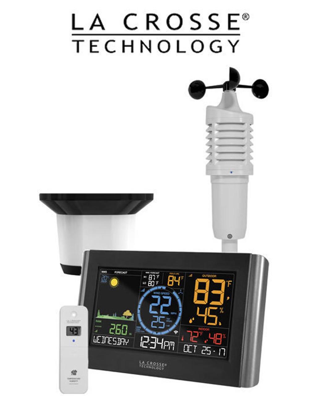 La Crosse V22-WRTH Professional WiFi Colour Weather Station