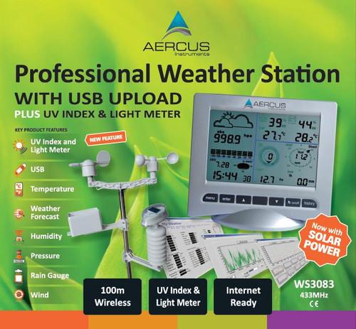 Aercus Instruments WS3083 Pro Wireless Weather Station