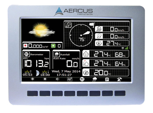 Aercus Instruments WeatherRanger - Professional Weather Station with WiFi and Real-time Internet Publishing
