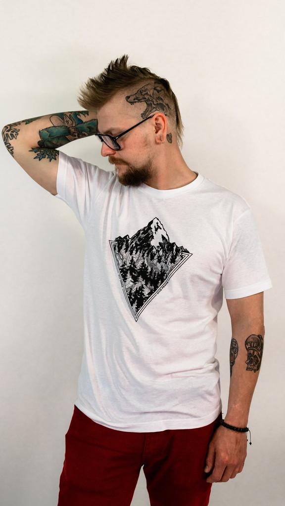 White Minimalist (Unisex Cotton)