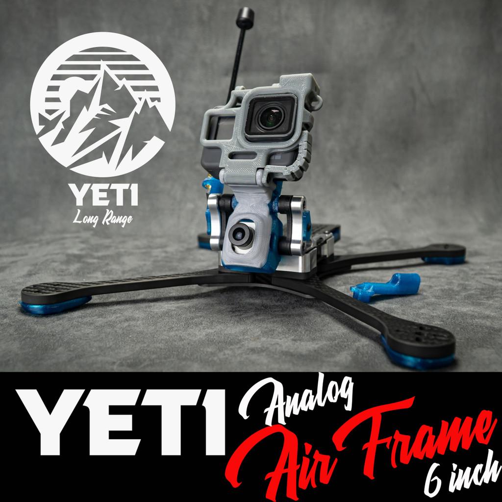 "Yeti 6"" Analog Long Range Frame"